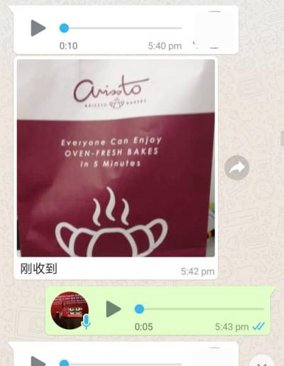 Arissto Bread Customer Reviews