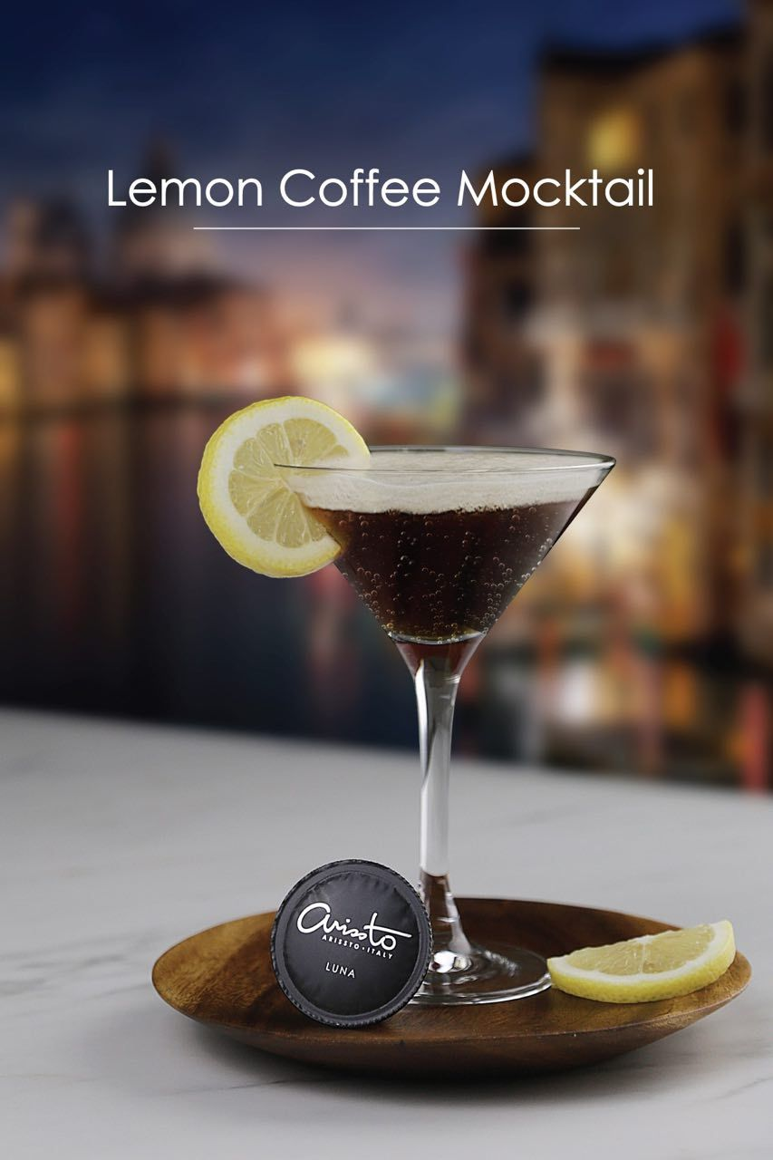 Arissto Lemon Coffee Mocktail